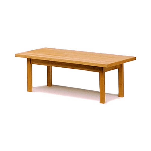 木製リビングテーブル アルダー材の北欧ナチュラル 幅120