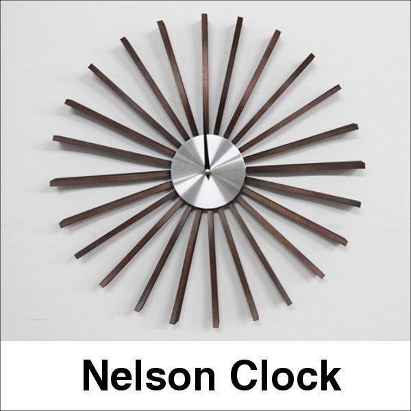 デザイナーズ 掛け時計 ネルソン フラッタークロック