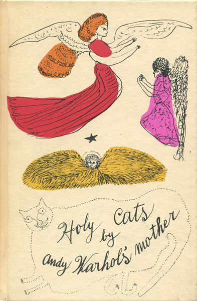 Holy Cats by Andy Warhol's Mother / 25 Cats Name Sam and One Blue Pussy 2冊セット