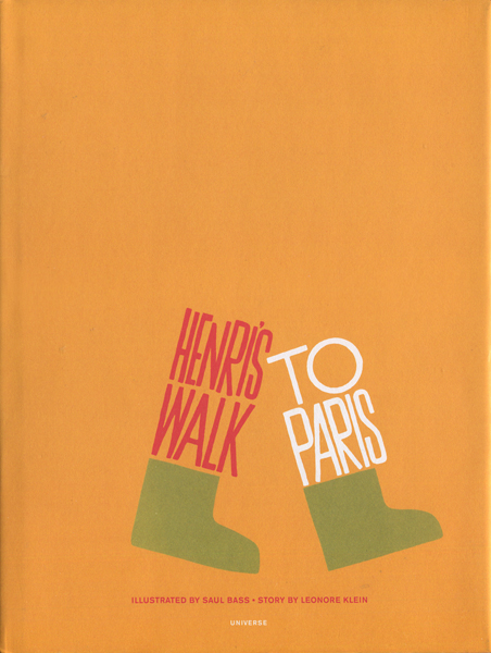 Saul Bass: HENRI'S WALK TO PARIS(復刻版)