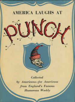 AMERICA LAUGHS AT PUNCH