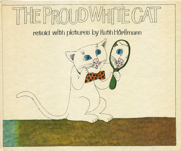 The Proud White Cat