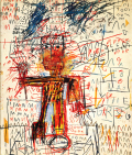 Jean-Michel Basquiat oeuvers sur papier works on paper