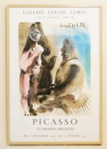 Pablo Picasso: 172 Dessins Recents at Galerie Louise Leiris ポスター