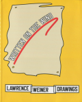 Written on the Wind - Lawrence Weiner Drawing