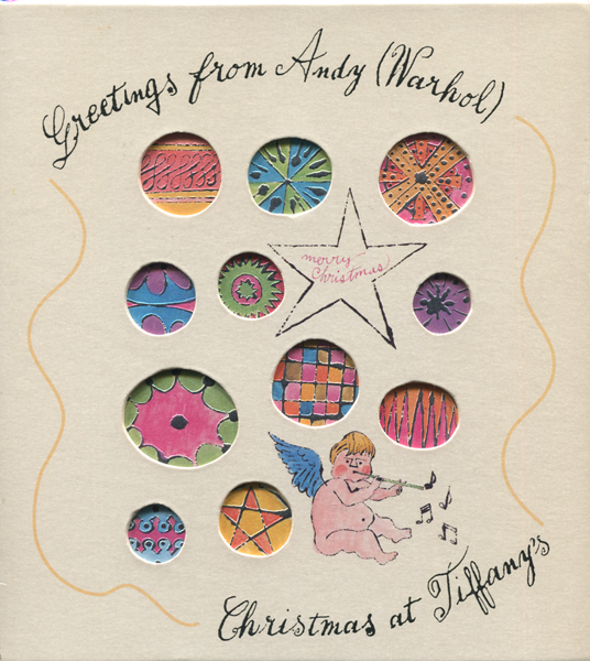 Greetings from Andy (Warhol) - Christmas at Tiffany's