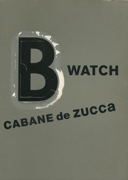 B-WATCH CABANE de zucca