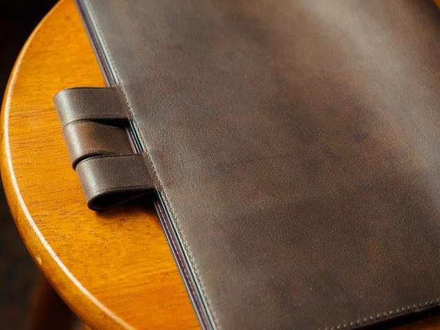 [オーダーメイドギャラリー]手縫い手帳カバー ほぼ日手帳カズン 厚め