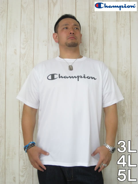 (大きいサイズ メンズ 通販 デビルーズ)Champion(チャンピオン)「CAMPION」ドライTEE