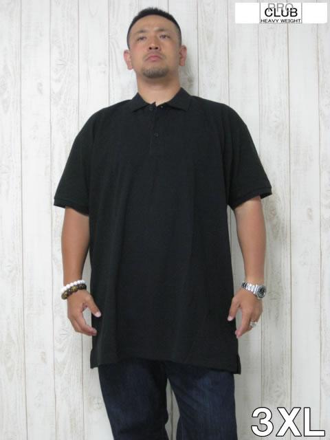 (大きいサイズ メンズ 通販 デビルーズ)PROCLUB(プロクラブ)「PIQUE」半袖ポロシャツ