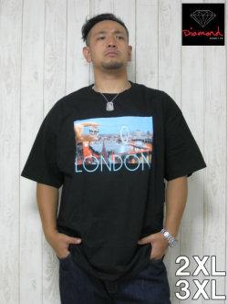 (大きいサイズ メンズ 通販 デビルーズ)Diamond(ダイアモンド)「LONDON LIFE」TEE