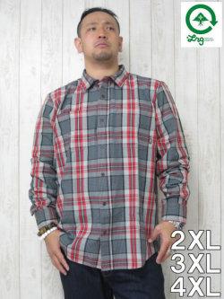 (大きいサイズ メンズ 通販 デビルーズ)LRG(エルアールジー)「SEARCHER」長袖シャツ