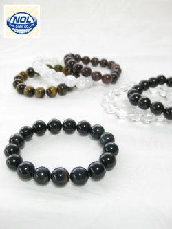 NOL(ノル)パワーストーン数珠ブレスレット(12MM)「ギフトボックス入り」<定番人気>