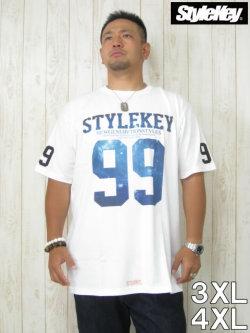 (大きいサイズ メンズ 通販 デビルーズ)STYLEKEY(スタイルキー)「COSMO」TEE