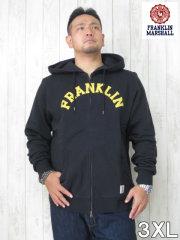 (大きいサイズ メンズ 通販 デビルーズ)FRANKLIN&MARSHALL 「FRANKLIN」フルZIP HOODY