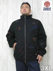 (大きいサイズ メンズ 通販 デビルーズ)FRANKLIN&MARSHALL 「OUT DOOR」中綿ジャケット