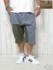 (大きいサイズ メンズ 通販 デビルーズ)児島ジーンズ「QUARTER COMBO」ショーツ