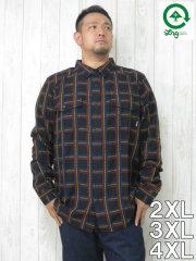 (大きいサイズ メンズ 通販 デビルーズ)LRG(エルアールジー)「PENROSE」長袖シャツ