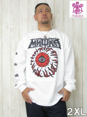 ���礭������������󥺡����Ρ��ǥӥ롼����MISHKA(�ߥ���)��AWAY��KEEP��WATCH�ץ��TEE