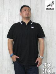(大きいサイズ メンズ 通販 デビルーズ)STAPLE(ステイプル)「SOLID PIQUE」半袖ポロシャツ