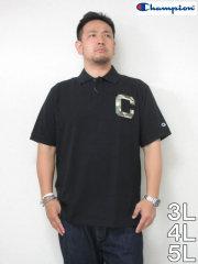 (大きいサイズ メンズ 通販 デビルーズ)Champion(チャンピオン)「MD−C」半袖ポロシャツ