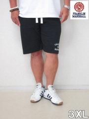 (大きいサイズ メンズ 通販 デビルーズ)FRANKLIN&MARSHALL 「LOGO」スウェットショーツ