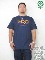 (大きいサイズ メンズ 通販 デビルーズ)LRG(エルアールジー)「ROOTS PEOPLE GROUP」TEE
