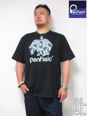 (大きいサイズ メンズ 通販 デビルーズ)PENFIELD(ペンフィールド)「CAMO BEAR」TEE