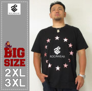 ROCAWEAR(ロカウェア)ROUND STAR METAL TEE