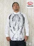(大きいサイズ メンズ 通販 デビルーズ)ECKO UNLTD(エコーアンリミテッド)「MASCOT」長袖シャツ