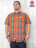 (大きいサイズ メンズ 通販 デビルーズ)FRANKLIN&MARSHALL(フランクリンアンドマーシャル)「HOLLY WOOD」半袖シャツ