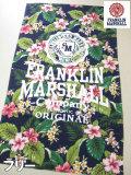 (大きいサイズ メンズ 通販 デビルーズ)FRANKLIN&MARSHALL(フランクリン&マーシャル)「FLORAL」ビーチタオル