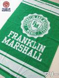 (大きいサイズ メンズ 通販 デビルーズ)FRANKLIN&MARSHALL(フランクリンアンドマーシャル)「FM」ビーチタオル