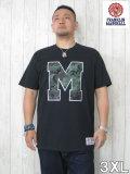 (大きいサイズ メンズ 通販 デビルーズ)FRANKLIN&MARSHALL(フランクリンアンドマーシャル)「M CAMO」TEE