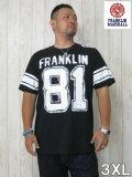 (大きいサイズ メンズ 通販 デビルーズ)FRANKLIN&MARSHALL「81」TEE
