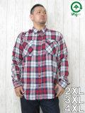 (大きいサイズ メンズ 通販 デビルーズ)LRG(エルアールジー)「FRIPSIDE」長袖シャツ