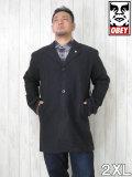 (大きいサイズ メンズ 通販 デビルーズ)OBEY(オベイ)「EIGHTY NINE LIMO」コート