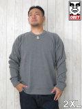 (大きいサイズ メンズ 通販 デビルーズ)OBEY(オベイ)「LOFTY CREATURE COMFORTS」スウェットシャツ