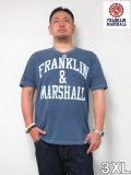 (大きいサイズ メンズ 通販 デビルーズ)FRANKLIN&MARSHALL 「ARCH LOGO」TEE