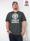 (大きいサイズ メンズ 通販 デビルーズ)FRANKLIN&MARSHALL 「EMBLEM」TEE