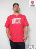 (大きいサイズ メンズ 通販 デビルーズ)FRANKLIN&MARSHALL FRANKLIN ロゴTEE
