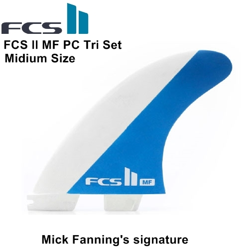 FCS II MF PC Tri Set PERFORMANCE CORE【Medium】 Mick Fanning's signature