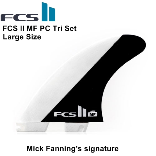 FCS II MF PC Tri Set PERFORMANCE CORE 【Large】Mick Fanning's signature