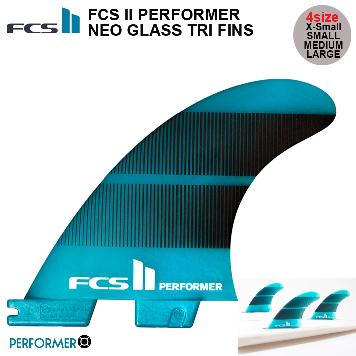 FCS II Performer NeoGlass Tri Set