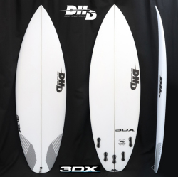 "【即納品可能】3DX  5'8"" 28L FCS2 5FIN ストック中 2018New Modeel more Waves & more Fun"