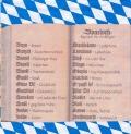 5枚組ペーパーナプキン*Boarisch