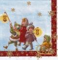 ペーパーナプキン*Santa with Kids