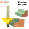 ルーター ビット クラッシク カーブ 1/2軸 ( 刃径 38mm ) Microtungsten carbide 【dm01207】