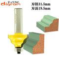 ルーター ビット ウエーブ エッジ 1/2軸 ( 刃径 31.5mm ) Microtungsten carbide 【dm01301】