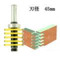 ルーター ビット ミニボックス 4mm ジョイント 1/2軸 Microtungsten carbide 【dm05501】